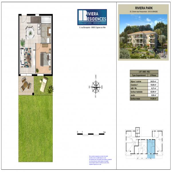 Programme neuf Appartement Grasse 06130